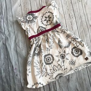 Tea Collection Dresses - Tea collection toddler girls dress black & white